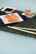 Stylish sushi presentation