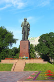 Taras Shevchenko monument, Kyiv, Ukraine poster