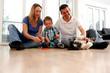 Harmonische Familienidylle