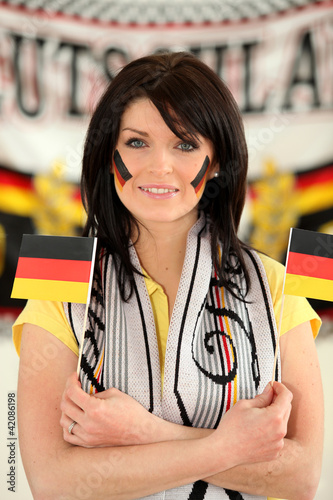 German football supporter