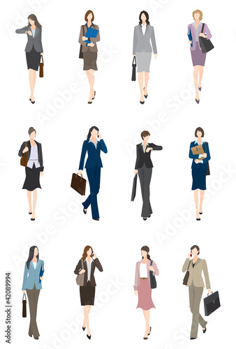 BusinessWoman_前向き