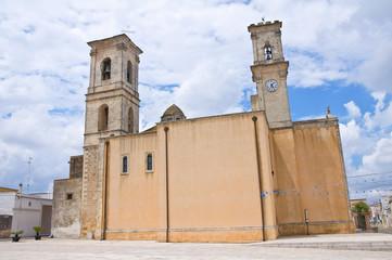 Mother Church. Martignano. Puglia. Italy.