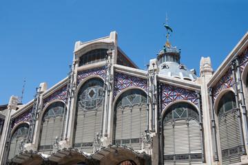 Valencia - Mercado Central, Central Market exterior