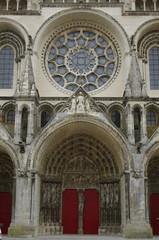 Portail de la cathédrale de Laon
