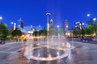 Leinwanddruck Bild - Centennial Olympic Park in Atlanta, Georgia