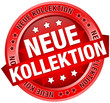 "Button Banner ""Neue Kollektion"" rot"