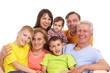 family sitting portrait
