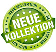 "Button Banner ""Neue Kollektion"" grün"