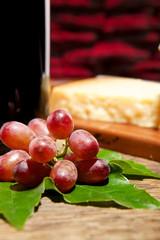 Trauben Weinprobe