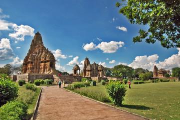 I templi di Khajuraho - India