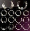 Laurel Wreath set