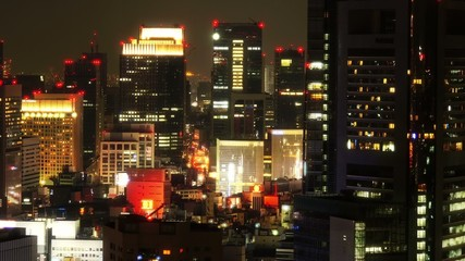 都市の夜景