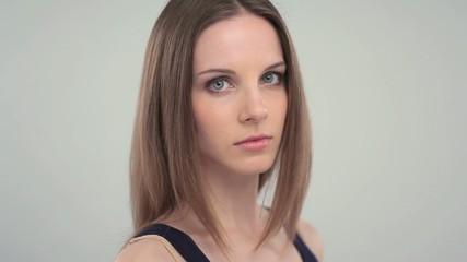 Sad/pensive young woman; Full HD Photo JPEG