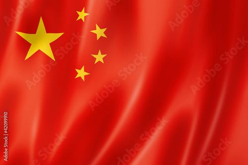 Leinwandbild Motiv Chinese flag