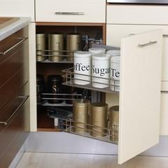 Furniture in a modern kitchen