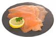 Tranches de saumon sauvage
