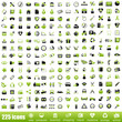 225 green icons