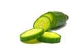 fresh cucumber close-up