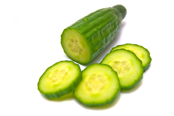 cucumber close-up