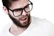 student mit brille