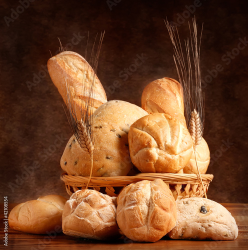 Cestino con pane