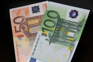 Euronoten Schwarzlicht
