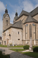 Gothic Cathedral of Maria Saal (Carinthia, Austria)