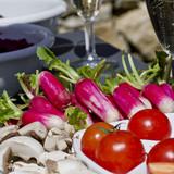 aperitif tomates et radis
