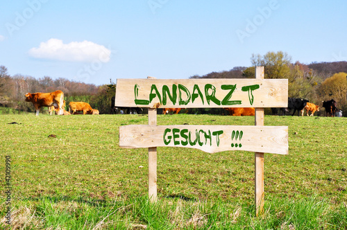 Landarzt gesucht