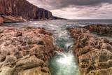 Cliffs of Fanore scenery in Ireland