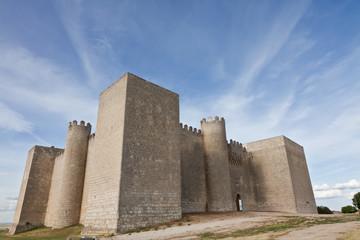 Castillo de Montealegre de Campos en Valladolid, España