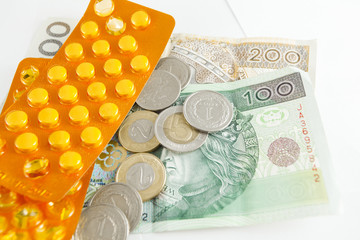 polish currency and medicines