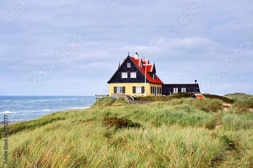 Haus auf Düne in Skagen, Dänemark 3