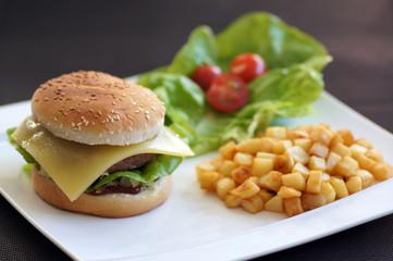 hamburger fait maison 1
