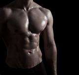 Fototapeta fitness - ramię - Mężczyzna
