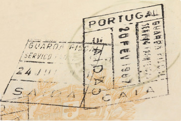 Old passport