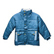 Children's blue parka