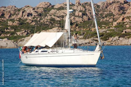 barca con tendalino