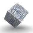 FLACHBILDSCHIRM - Würfel / Cube