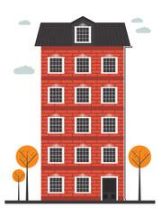 cartoon building