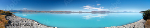 Lake Pukaki Panorama, New Zealand