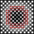 abstrakter hintergrund mit quadraten