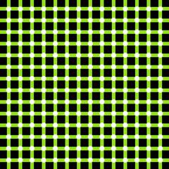 gittermuster mit entstehenden punkten - illusion