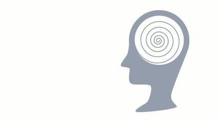 Spirale im Kopf