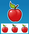 Different style apple icons.