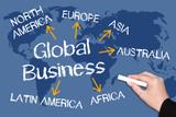 Fototapety Global Business