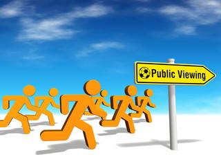 Figuren-Serie: Public Viewing