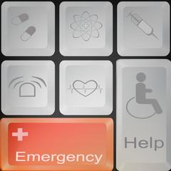 Medicine keyboard