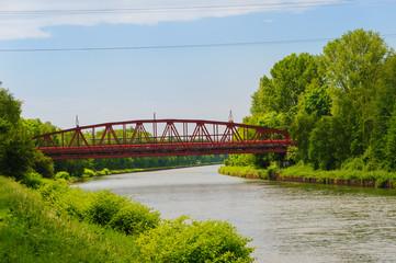 Eisenbahnbrücke über den Rhein-Herne-Kanal