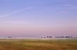 Dutch farm at sunrise